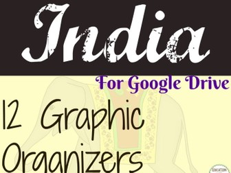 Ancient India Digital Interactive Notebook Graphic organizers Ancient India Digital Interactive Note