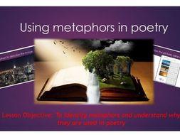 English- Using metaphors in poetry