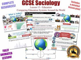 Education Around the World - Sociology of Education L15/20 [ WJEC EDUQAS GCSE Sociology ] KS4