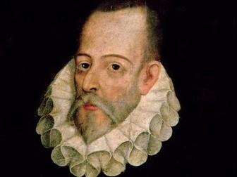 Cervantes and Sor Juana (1), Picasso (2), Felipe VI (3); mini-units - thematic units for Beginners 1