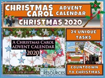 A Christmas Carol Advent Calendar 2020