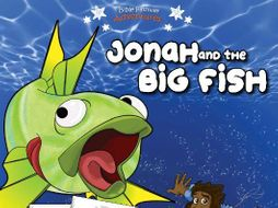 Jonah and the Big Fish Activity Book for Beginners