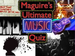Ultimate Music Quizzes By Totticoves Teaching Resources Tes