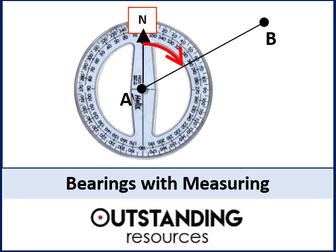 Bearings 1 - with Measuring (+ worksheet)