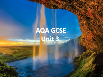 AQA Geography Unit 3