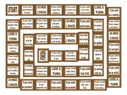 Conditional Sentences Type 2 Board Game