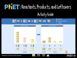 phet reactants products and leftovers