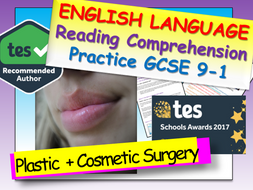 Reading Comprehension - Cosmetic / Plastic Surgery