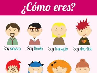 Poster - Spanish - Cómo eres