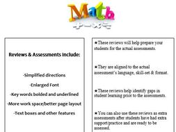 Grade 3, Math Module 2 REVIEW & ASSESSMENT w/Ans keys (printables & Smart Board)