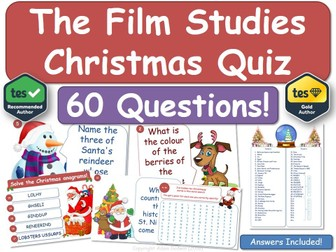 Film Studies Christmas Quiz!