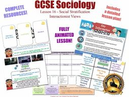 Interactionist Views - Social Stratification L16/20 [ AQA GCSE Sociology - 8192] Power Authority NEW