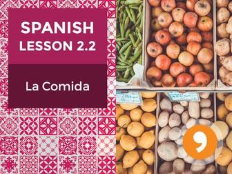 Spanish Lesson 2.2: La Comida - Food