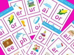 Phonics sound snap - digraphs and trigraphs