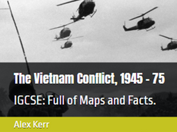 IGCSE Edexcel The Vietnam Conflict, 1945 - 1975 Chapter 2 Arrival of the Americans