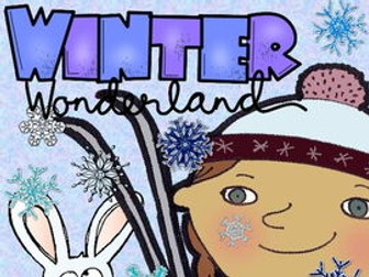 Winter Themed Opinion and Persuasive Writing Prompts & Posters