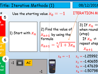 Introduction to Interative Methods