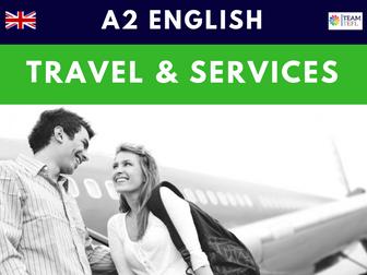 Travel & Services A2 Pre-Intermediate ESL Lesson Plan