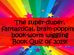 World Book Day quiz 2019