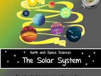 Solar System:  Earth and Space Sciences