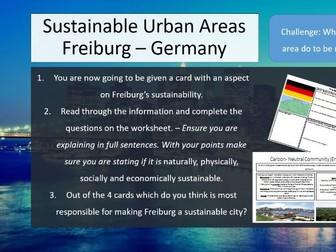 Freiburg Sustainable Cities AQA