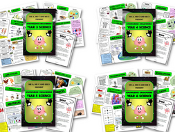 *BUNDLE* KS2 Science Knowledge Organisers / Cheat Sheets for Years 3, 4, 5 and 6