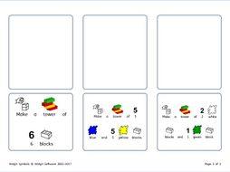 Lego Tasks & Communication Board