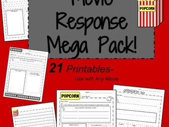 Movie Response Sheet: Video Review