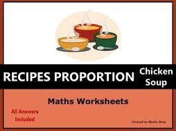 Proportion Ratio Recipe