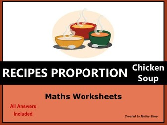 Proportion Ratio Recipe