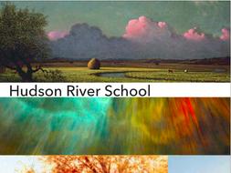 Hudson River School ~ Art History ~ 235 Slides ~ America ~ Landscape Painting