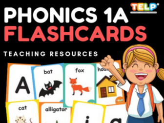 Phonics 1A - FLASHCARDS