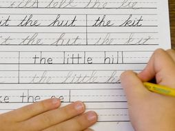 Handwriting bundle!! Save time with these quick and easy cursive handwriting flipcharts!