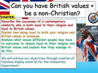 British Values + Religion