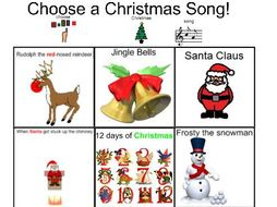 Christmas Songs:- Dance along to Xmas songs!