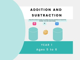 Addition And Subtraction (One-Digit And Two-Digit Numbers) - Year 1, Key stage 1