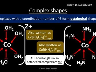 NEW OCR A Yr2 5.3.1 and 5.3.2 Transition Elements and Qualitative Analysis Revision