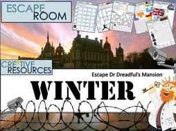 Christmas End of Term Escape Room