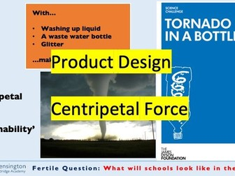 Up-Cycling and Centripetal Force STEM