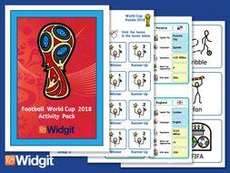 Football World Cup 2018 - with Widgit Symbols
