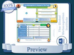 Task-Specific-Metacognition-Worksheets.zip
