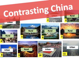 Contrasting China! Urban vs Rural