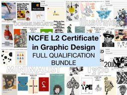 NCFE L2 Graphic Design FULL QUALIFICATION
