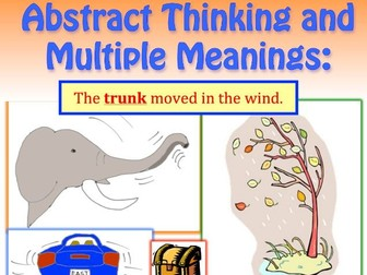 Abstract Thinking, Multiple Meanings and Critical Reasoning Free Sample