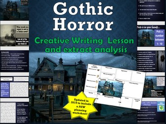 Gothic Horror Creative Writing Lesson