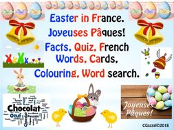 French Easter Resources - Joyeuses Pâques!
