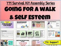 Y11 Survival Kit - Going for a walk + Healthy Lifestyles
