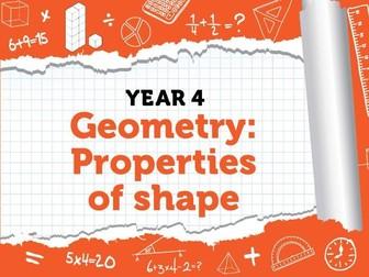 Year 4 - Geometry - Properties of Shape - Week 8 - Summer - Block 5 - White Rose