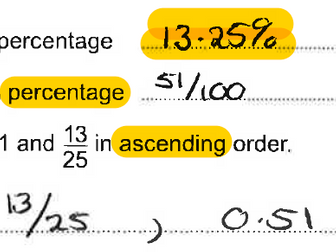 Spot the Mistake Non Calculator