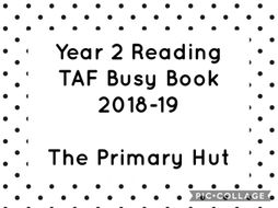 Year 2 Reading TAF Book